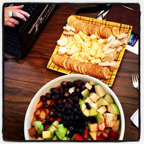 Blogger Snacky Lunch #love