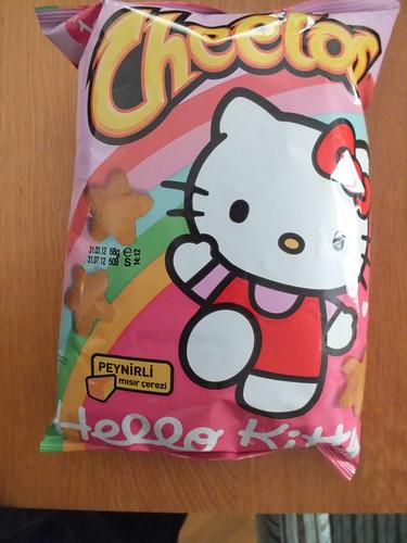 Hello Kitty-ízű chips kínai turistáknak