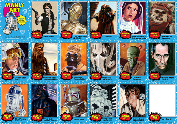 2012 May the 4th Be With You Card Set