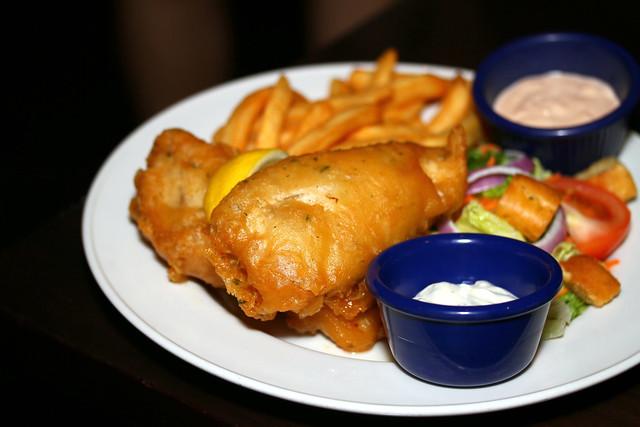Hard Rock Cafe Sentosa Singapore: Fish & Chips