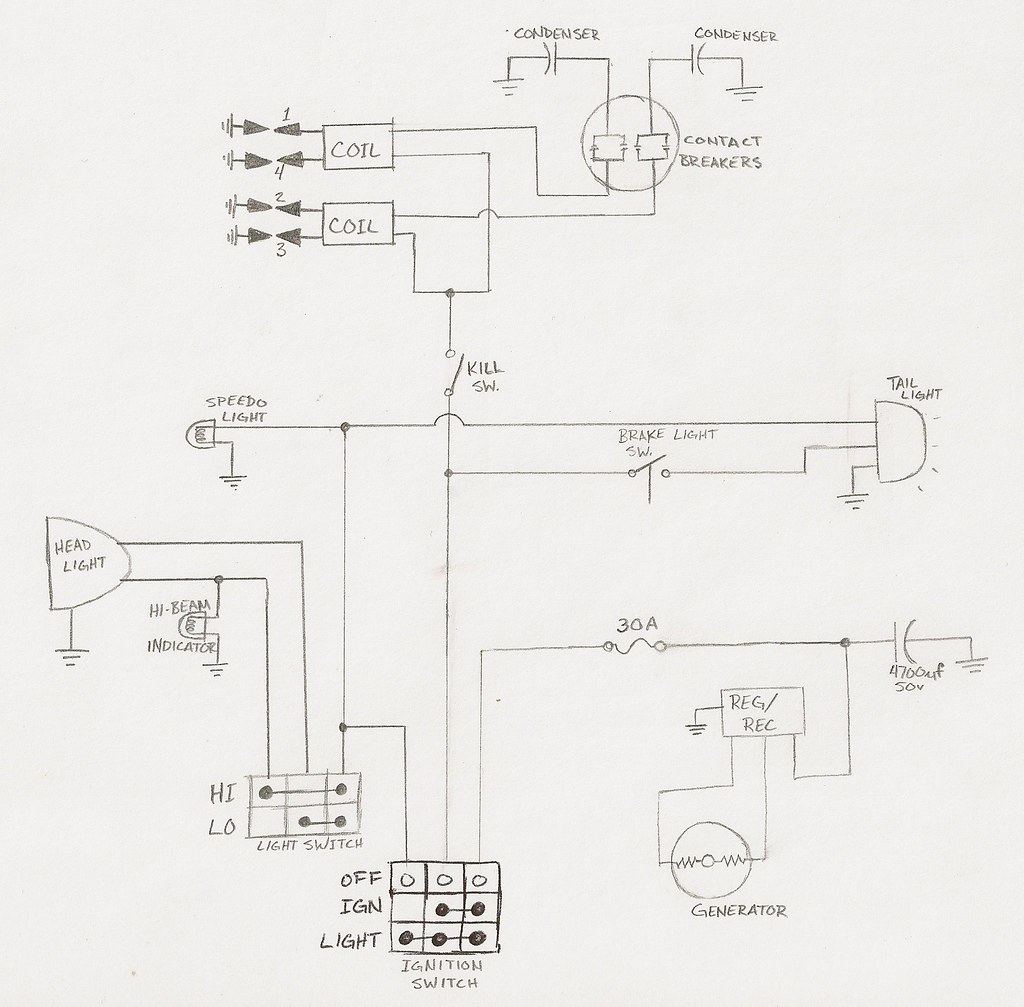 Diagram  Honda Cb750 Chopper Wiring Diagram Full Version