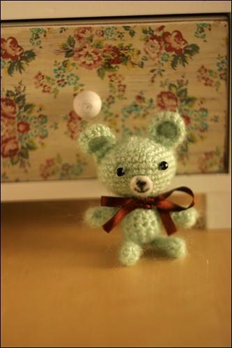 Mint chocolate bear