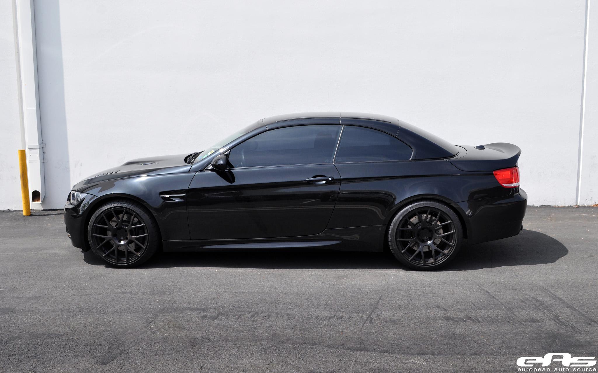 Black E93 M3 W Vorsteiner Exterior Bmw Performance
