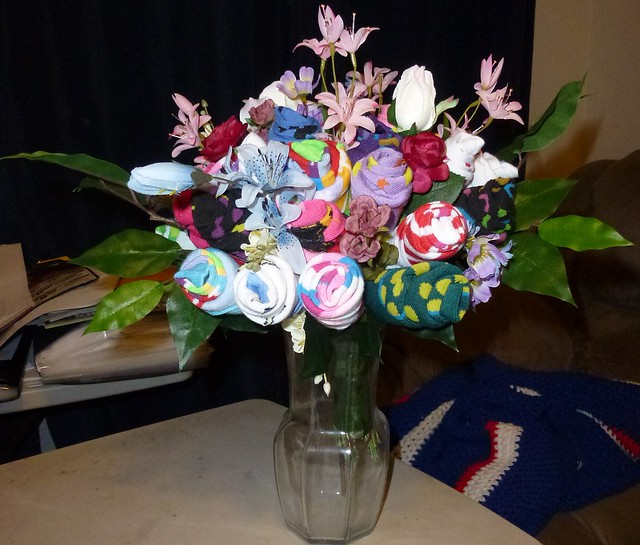 How About A Sock Bouquet Diy Pics Included
