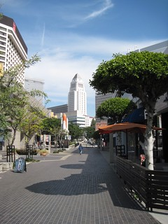 LA's City Hall viewed from Little Tokyo (c2012 by FK Benfield)
