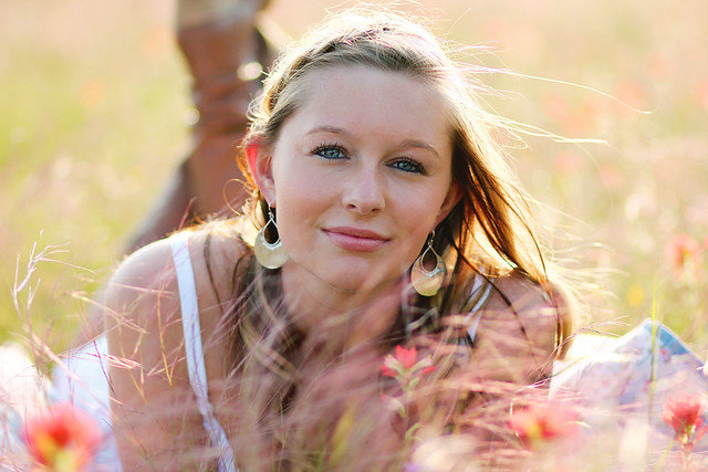 Mckinney Texas senior portrait photographer