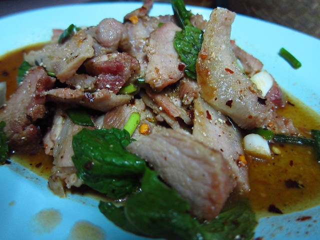 Roasted Pork Salad