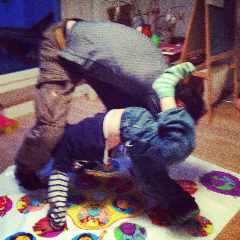 Betthupferl: Twister