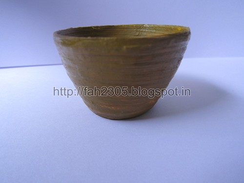 Handmade Paper Pot (2) by fah2305