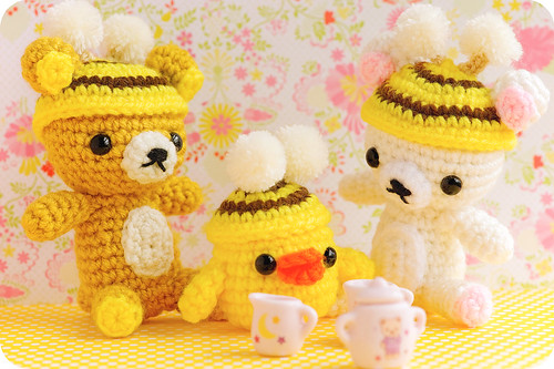 tea time with rilakkuma and friends