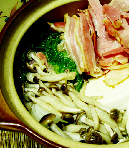 MMF: Oishinbo Cooking: Bacon Nabe