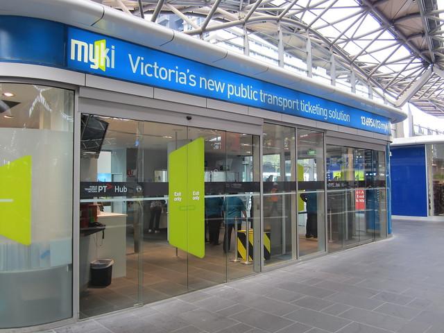 PTV Myki hub, Southern Cross Station