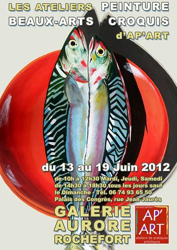EXPO Peinture Beaux-Arts Croquis Ap'Art by alain bertin