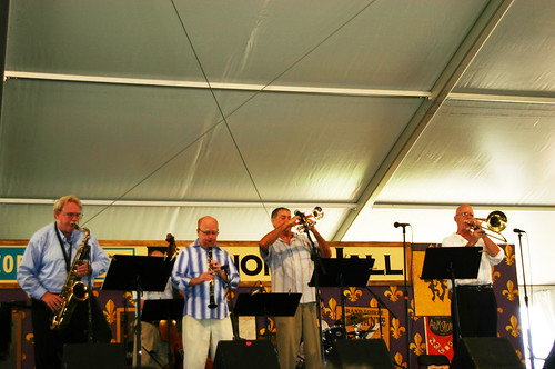 Connie Jones & the Crescent City Jazz Band. Photo Danielle Small.