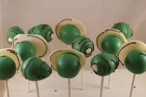 Dr Suess Cake Pops