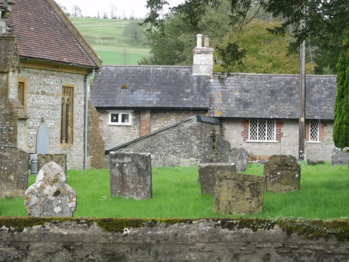 Gravestones at the Church of St. Andrew, Minterne Manga  (Photo offered by Ell Brown)