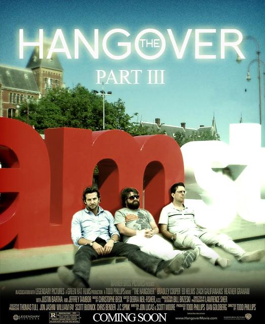 Hangover 3 Amsterdam