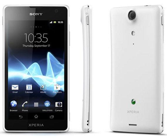 Sony Xperia GX y Xperia SX: Primeros Xperia LTE
