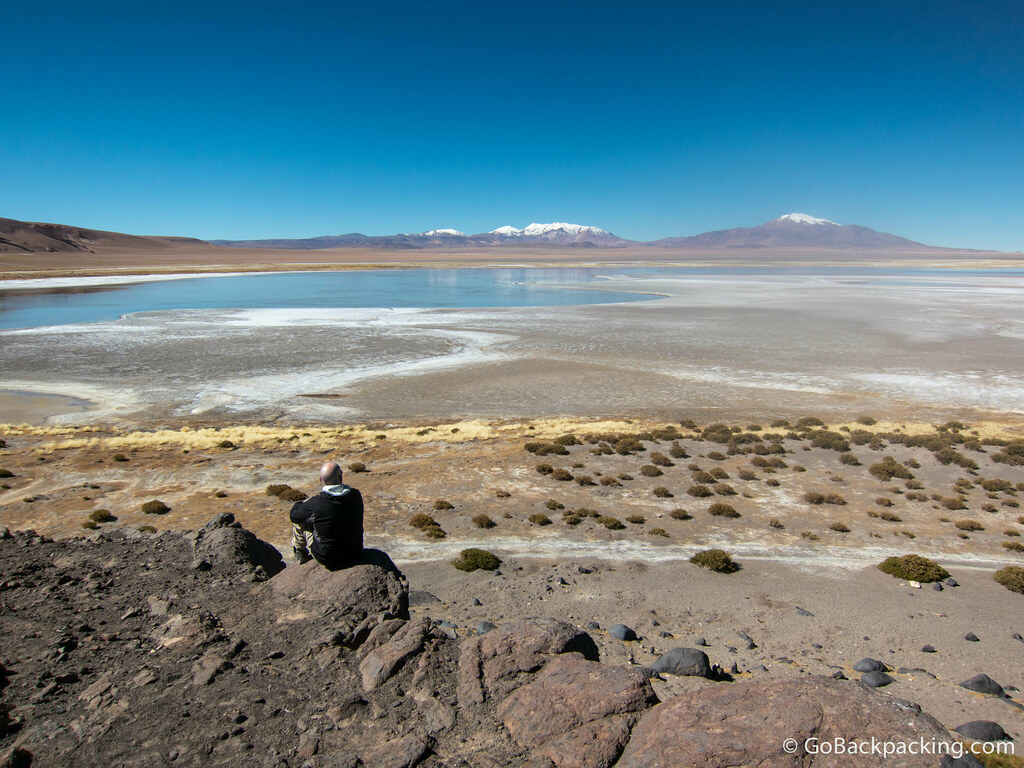 Taking a moment to appreciate the raw beauty of the Atacama Desert.