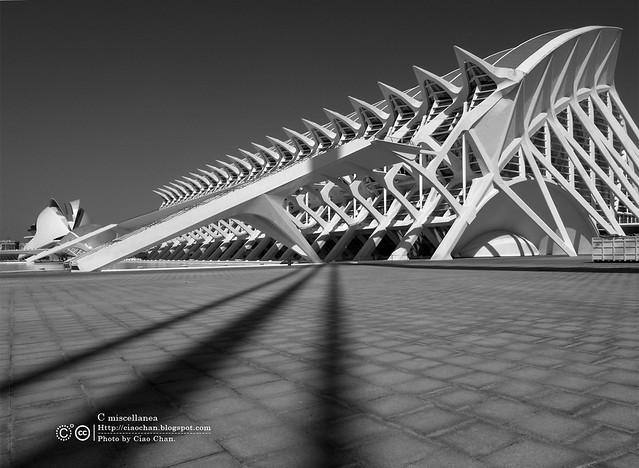 Hola Valencia~瓦倫西亞。藝術科學城 Ciudad de las Artes y las Ciencias     R1043409