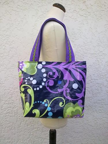 Bolsa em PVC Amy Butler by ♥Linhas Arrojadas Atelier de costura♥Sonyaxana