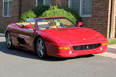 ferrari 348(0.0), ferrari testarossa(0.0), race car(1.0), automobile(1.0), automotive exterior(1.0), vehicle(1.0), automotive design(1.0), ferrari f355(1.0), ferrari s.p.a.(1.0), land vehicle(1.0), luxury vehicle(1.0), supercar(1.0), sports car(1.0),