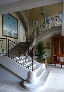 Château de Canisy - stairs