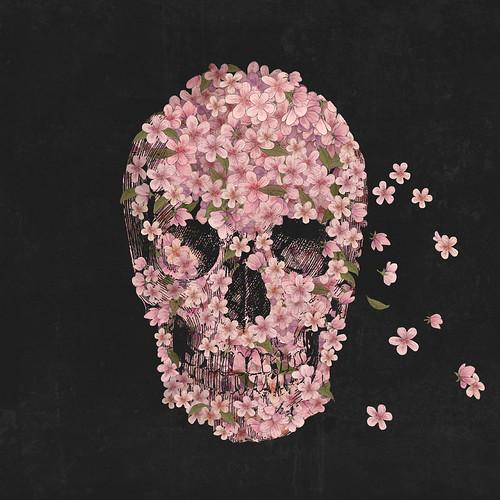 morte por flores