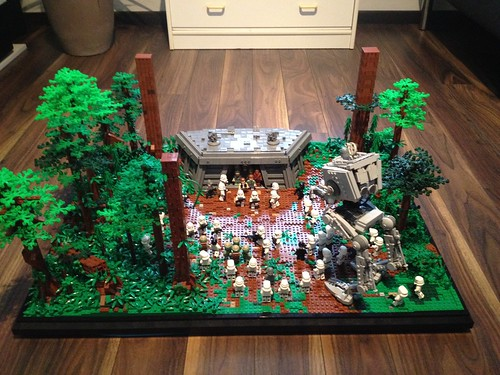 episode vi battle of endor diorama lego star wars eurobricks forums. Black Bedroom Furniture Sets. Home Design Ideas