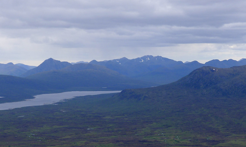 The Glencoe Hills above the Blackwater Reservoir