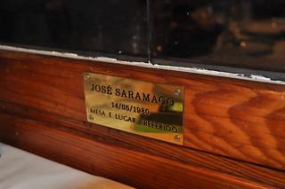 Mesa de Saramago
