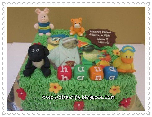 Timmy Time by DiFa Cakes