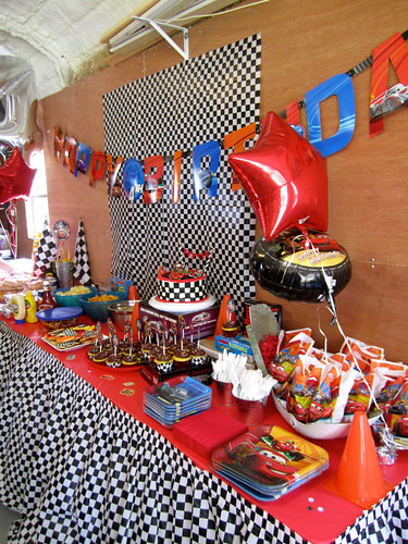 The Steinmann Family Elliots Lightning McQueen Birthday Party