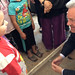 Alan Duncan meets families who fled the fighting in Syria