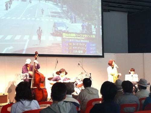 Crescent Note 仙台国際ハーフマラソンライブ@せんだいメディアテーク