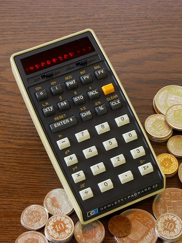 HP-22 Business Calculator