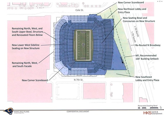 Rams Stadium proposal response to St. Louis CVC - May 1, 2012