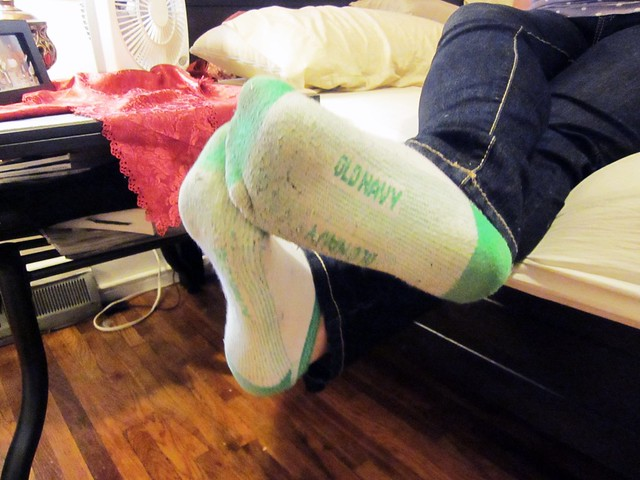 Dirty, Smelly Old Navy Socks  Flickr - Photo Sharing-3887