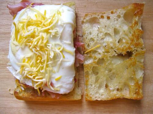Fancy Breakfast Sandwiches