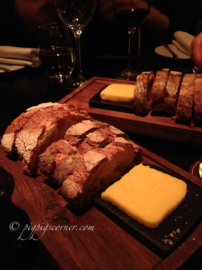 Dinner by Heston Blumenthal bread