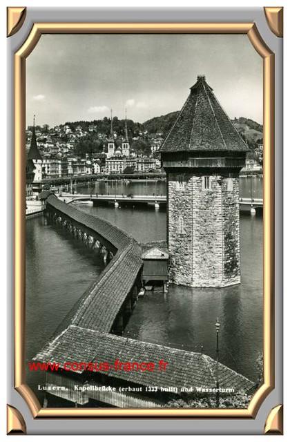 Luzern, Kapellbrückund Wasserturm