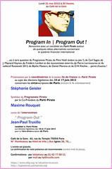 [News] Invitation à la soirée du 21 mai 2012
