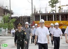 Phó Thủ tướng Hoàng Trung Hải thị sát tiến độ công trình Nhà Quốc hội