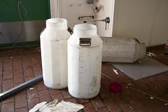 Creamery Milk Containers