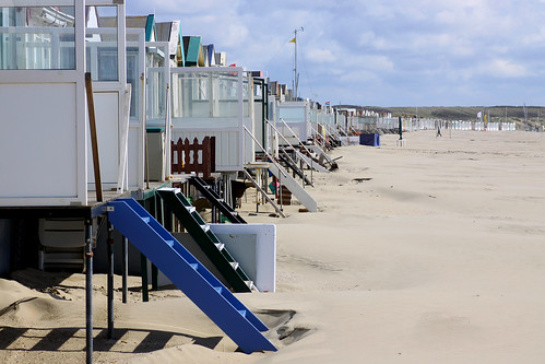 Beach huts, Ijmuiden