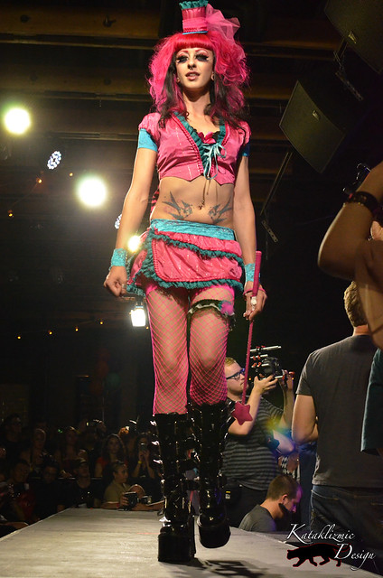 ModifiedMinds Clothing - Madame Trapeze Fashion Show 05-12-12