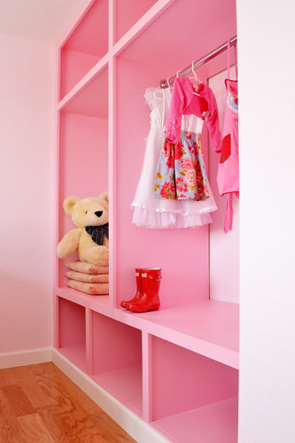 Wardrobe Project in Pink Room