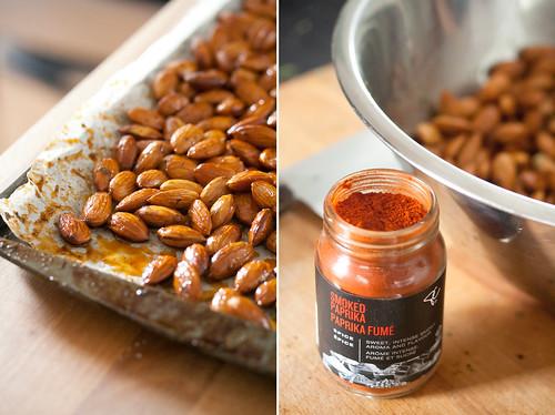 Almonds and Smoked Paprika