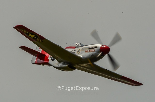 "Down the Centerline Series: High Speed Pass North American P-51 Mustang ""Val-Halla"""