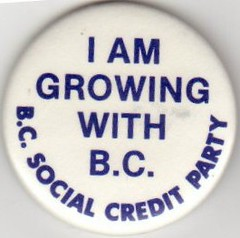 I am growing with B.C. - B.C. Social Credit Party